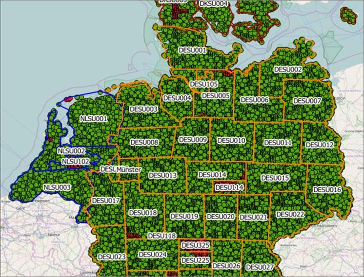 App zum Real-Time-Management von Feldkartierungen.