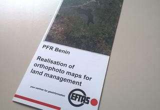 Realisation of orthophoto maps for land management.